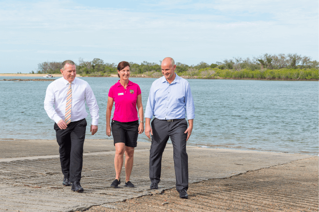 QUEENSLAND GOVERNMENT CONFIRM FUNDING FOR  BOYNE RIVER MAINTENANCE DREDGING AND CALLIOPE RIVER BOAT RAMP WORK